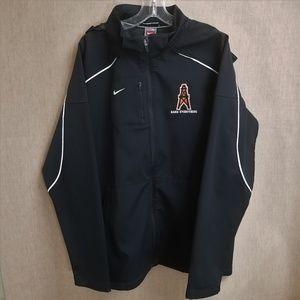 Nike Jacket Men's Size XL Removable Zip Hood Black